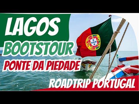 Bootstour zur Ponta da Piedade / Lagos