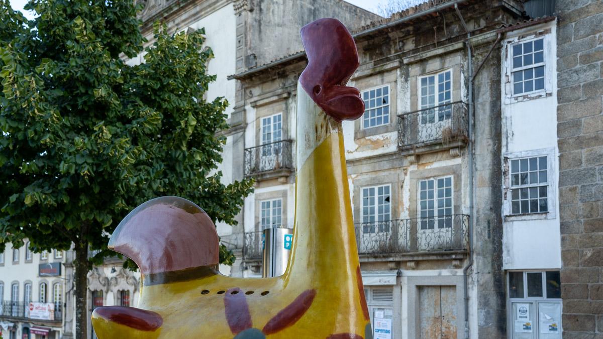 Gelber Galo des Barcelos