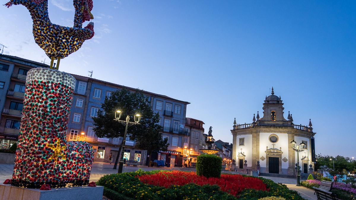Blaue Stunde in Barcelos