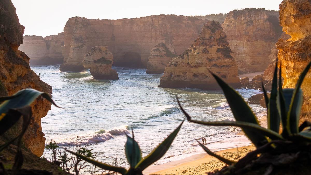 Praia da Marinha Algarve Felsküste