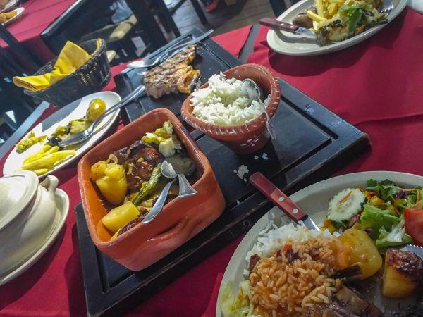 Restaurant besuchen in Portugal