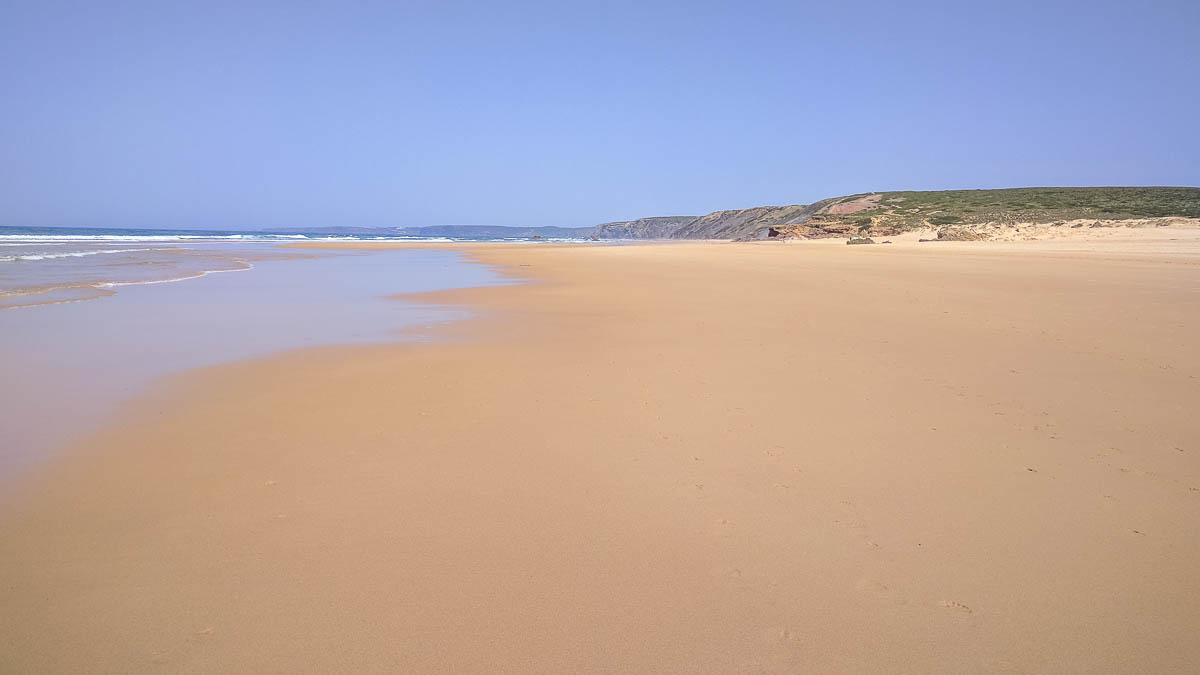 Strand Düne Algarve Praia da Bordeira