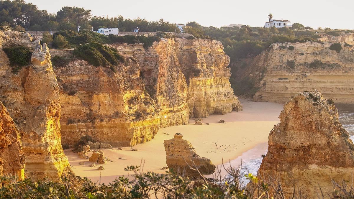 Strand Algarve Praia da Marinha