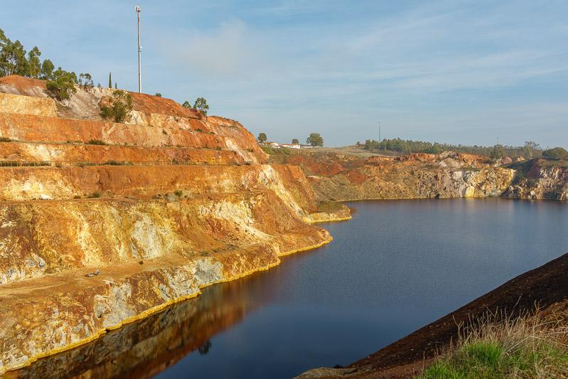 Mina de Sao Domingos Tagebau