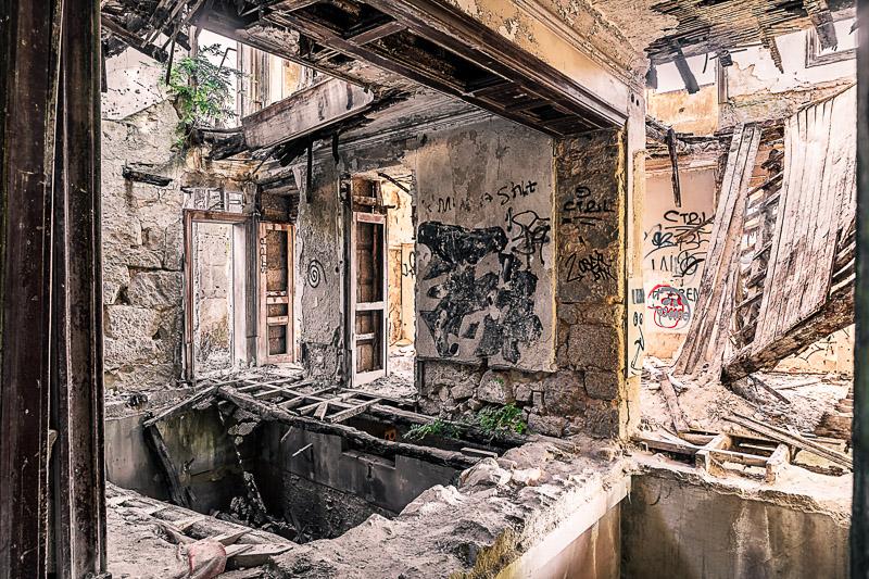 Ruinen von Portugal